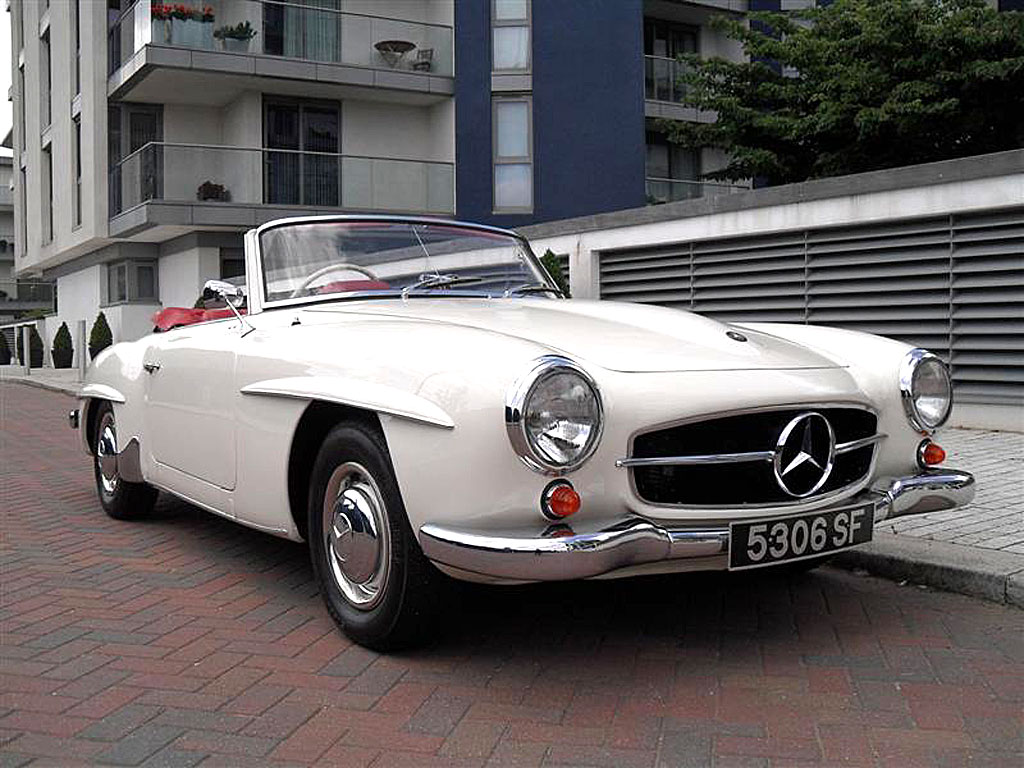 1961 mercedes benz 190sl for sale chelsea cars. Black Bedroom Furniture Sets. Home Design Ideas